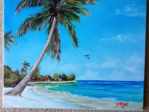 Siesta Key Beach 16x20  BUY  $175 # 15614 - Free Shipping US Only by Lloyd Dobson