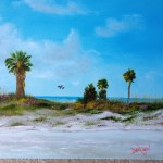 Suncoast Beach 16x20   BUY   $175 #15814 - Free Shipping US Only by Lloyd Dobson