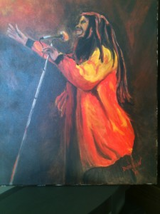 Private Collection Of: Marco - Sarasota, Florida Bob Marley Sings Jammin
