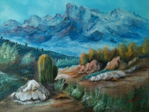 Colors in the High Desert 16x20 BUY #12114 $175 Free shipping (USA only)