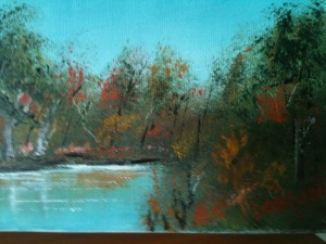 Lake In The Fall Lake In The Fall #10713 BUY $35 5x7 Free shipping lower US 48 & Canada Only