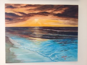 Sunset Miracle #15014 BUY $225 16x20 - Free Shipping Lower US 48 & Canada