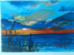 "Private Collection Of: Sara Shreve - Windsor Heights, Iowa #11213 - ""Sunset On Siesta Key Florida"""