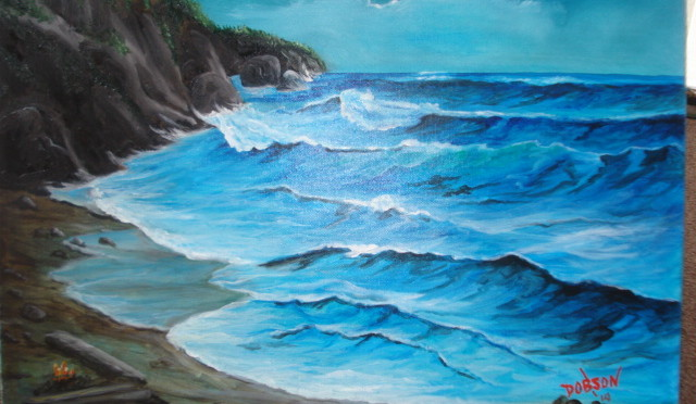 Beach Canvas Art For Sale Lloyd Dobson Artist