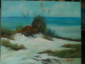 "Private Collection Of: Bernadette Moran - Lakewood Ranch, Florida ""Sand Dune On The Key"" - #13514"