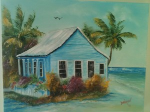 Private Collection Of: Missy & Jay Virgin - Oldtown, Kentucky Shack In Jamaica