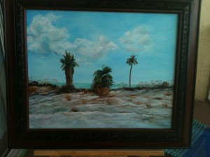 "16x20 Oil Painting ""Treasure Island, Florida"" Private Collection - Al & Sue Arcady - Lakewood Ranch, Florida"