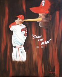 "Private Collection Of: It's a Gift - Can't Share At This Moment ""Stan The Man"" #111514 - 30x36"