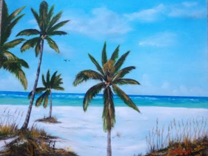 Siesta Key Beach Fun #112714 BUY $225 Private Collection Of: Bill Hauser - Loveland, Ohio - #112714 - $225 16x20