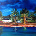 "Private Collection Of: Dee Houden & Jeff Hudson - Wisconsin ""Our Paradise Retreat"" #117114 - 28x44"