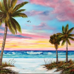 """Colors Of Siesta Key"" #118115  -  $225 16x20"