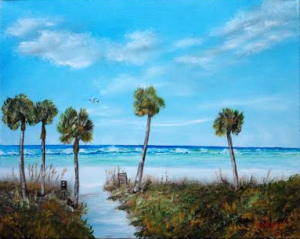"Private Collection Of: Richard Di Vita Siesta Key, Florida ""Siesta Key Beach"" #119615 $225 16x20"