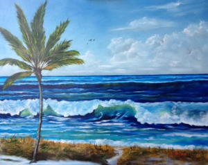 "Private Collection Of: Michael & Jenny Gillette & Family Labadie, Missouri ""Our Siesta Key Vacation 2015"" #128815 $495 24""x30"""