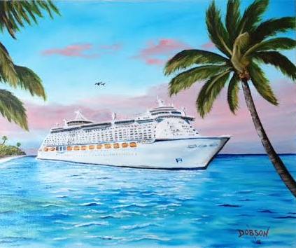 I Love To Cruise #129315 BUY $250 16x20 - FREE Shipping Lower US 48 & Canada