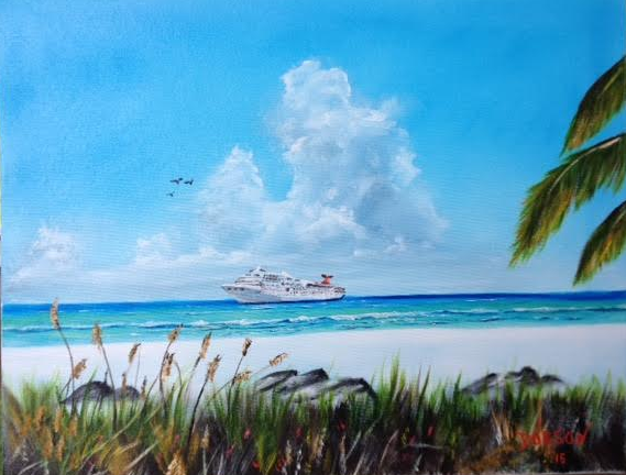 Destination Paradise #129415 BUY $250 16x20 - FREE Shipping Lower US 48 & Canada