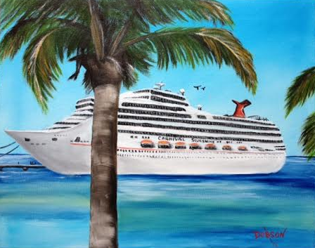 Finally Arrival In Paradise #129515 BUY $250 16x20 - FREE Shipping Lower US 48 & Canada