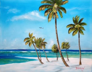 """My Paradise"" #131415 BUY $250 16x20 - Free Shipping Lower US 48 & Canada"
