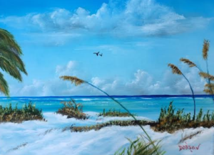"""Sea Grass On The Key"" #139716 BUY $150 11x14 - Free Shipping Lower US 48 & Canada"