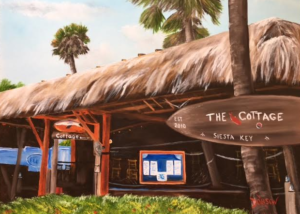"Private Collection Of: The Cottage Siesta Key, Florida ""The Cottage On Siesta Key"" #147316 - $290 18""h x 24""w"