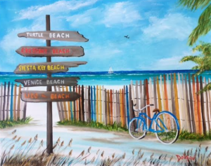 "Private Collection Of: Susan & Tom Seal Anderson, Indiana ""Incredible Beaches"" #152217 $250 16""h x 20""w"