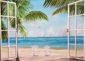 """""""The Morning View"""" #152517 BUY $350 18""""h x 24""""w - FREE shipping lower US 48 & Canada"""