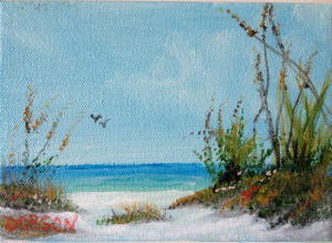 Private Collection Of: Mr & Mrs Scott Gysler - Sea Oats On The Key