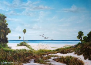 "Private Collection Of: Brad & Nancy Schneider - Chicago. Illinois ""Siesta Key Serenity"" #19914 - $495 34x44"