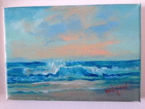 "Private Collection Of: Kathleen Schillo Victoria, Minnesota ""Sunset On Siesta Key"" #11213 $40 5x7"
