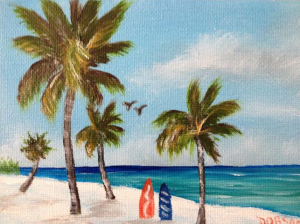 "Private Collection Of: Vivian Tamez - Sarasota, Florida ""On Siesta Key - 5x7"