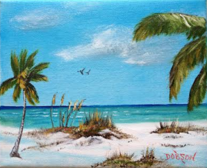 Private Collection Of: Helen & Ira Dauer Howell, New Jersey Dunes Of Siesta Key #119415 - $75 8x10