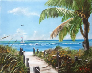 Private Collection Of: Richard & Diane Wright Lakewood Ranch, Florida At Siesta Key Beach #120015 - $250.00 16x20