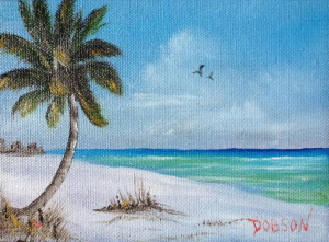 "Private Collection Of: Teri & Ken Harris North Tonawanda, NY #120115 ""Paradise"" $40"