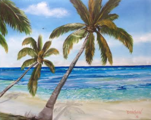 Private Collection Of: Glenn Kuemerle, DDS Avon Lake, Ohio Siesta Key Beach 16x20 - $250