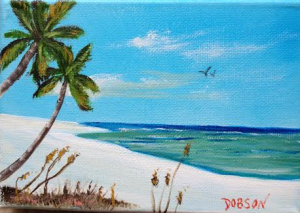 "Private Collection Of: Jane Ritchey Darien, Conn ""Beach Timet"" $40 5x7"
