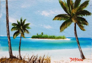 "Private Collection Of: Janice Warrington Wymau, Florida ""Paradise Island"" $40 - 5x7"