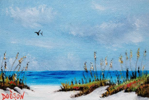 "Private Collection Of: Jay Pultz Morristown, Ney Jersey ""Dunes & Sea Oats"" #122315 - $60 5x7"