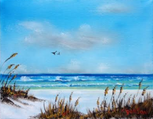 "Private Collection Of: Dave & Pam Leakey Stone Mountain, Ga ""Siesta Key Sea Oats"" #123315 $75 8x10"