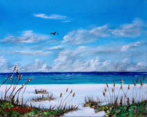 "Private Collection Of: Don McCaskill & Gary Neve Siesta Key, Florida #123915 $75 ""Spring On The Key"" 8x10"