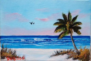 "Private Collection Of: Christy Kruger Crown Point, Indiana ""Siesta Key"" #124815 $40.00 5x7"