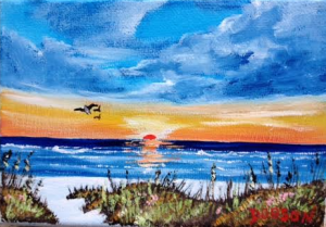 "Private Collection Of: Shelly & Sean McMonagle Boothwyn, Pa ""Siesta Key Beach"" #125115 - $40 5x7"
