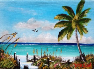 "Private Collection Of: Cindy Picot Venice, Florida ""Siesta Key"" #125415 - $40 5x7"