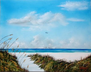 "Private Collection Of: Thomas Mirabito Littleton, Colorado ""Siesta Key Sea Oats"" #125715 - 16x20"