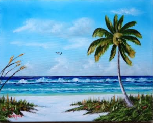 "Private Collection Of: Matt Nooney & Marisa Cochran Bradenton, Florida ""In Paradise"" #125915 - $250 16x20"