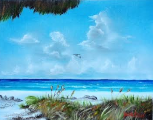 "Private Collection Of: James & Monica Pasko Millersville, Maryland ""Anna Marie Island"" #127315 - $125 11x14"