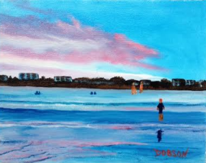 "Private Collection Of: James & Monica Pasko Millersville, Maryland ""At Siesta Key Public Beach"" #128115 - $80 8x10"