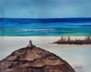 "Private Collection Of: Robert Clements Sarasota, Florida ""My Favorite View Of Paradise"" #130115 - $250 16x20"