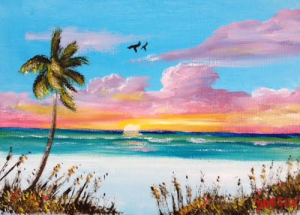 "Private Collection Of: Rob & Samantha Boutilier Amherst, Ma. ""Siesta Key"" #133616 - $40 5x7"