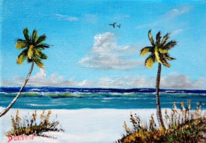 "Private Collection Of: Rob & Samantha Boutilier Amherst, Ma. ""Siesta Key Beach"" #134016 - $40 5x7"