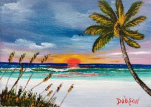 "Private Collection Of: Mark Callahan Sarasota, Florida ""Siesta Key"" #135816 $60 5x7"