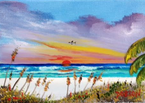 "Private Collection Of: Jane Ritchey Darien, Conn ""Siesta Key"" #136216 - $40 5x7"
